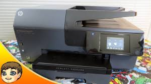 ideal home aio printer hp officejet pro 6830 sponsored youtube