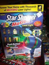 motion laser light projector bulbhead star shower motion laser lights projector 10639 6 ebay