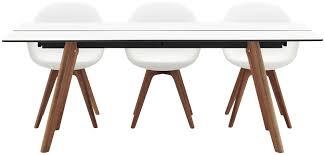 B O Schreibtisch Holz Moderner Esstisch Holz Laminat Rechteckig Adelaide Boconcept