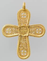 byzantine crosses gold cross pendant work of heilbrunn timeline of