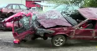 volvo 850 extreme crash test unscientific but awesome