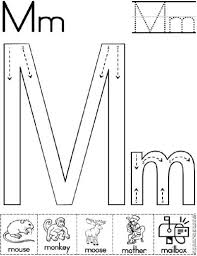 free worksheets printable letter m worksheets free math