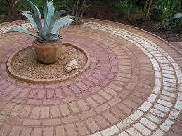 circular brick patio patterns design and ideas