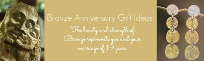 19th wedding anniversary gift wedding anniversary gift ideas 19 years lading for