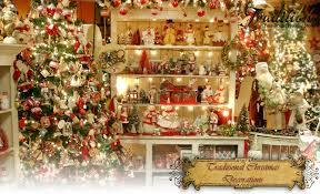 christmas decor traditional christmas decorations