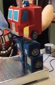 optimus prime birthday fully transformable optimus prime birthday cake transformers
