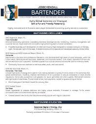 bartending resume exles bartender resume skills create a great bartender resume bartending resum