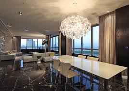 Contemporary Dining Rooms Beautiful Ideas Contemporary Dining Room Chandeliers Cool Design