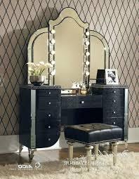 black vanity set with lights wonderful vanity mirror table shopfresh co