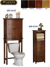 bathroom floor cabinet u0026 over toilet storage cabinet wd 4143