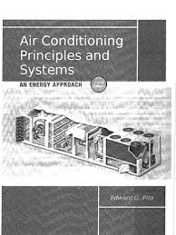 air conditioning principles and systems an energy approach 4th
