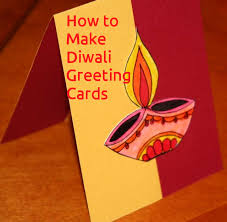 how to make diwali greeting cards festivals of india