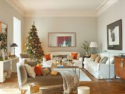 house decorations modern spanish house decorated for christmas digsdigs nrscee