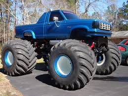 first bigfoot monster truck at first bigfoot and other monster trucks had 48 inch