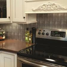 fasade kitchen backsplash fasade 24 in x 18 in rib pvc decorative backsplash panel in