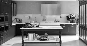 fascinating virtual kitchen design with black white kitchen island