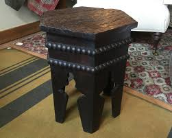 hammer town vintage wooden stool table 295 250 hammertown