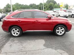 lexus suv for sale used red lexus rx in georgia for sale used cars on buysellsearch