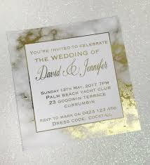 print wedding invitations gold foil marble printed wedding invitation sample someday a mrs