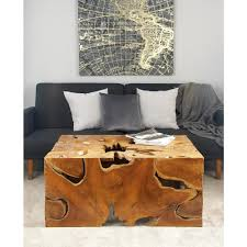 oriental furniture brown coffee table krn h 5 the home depot