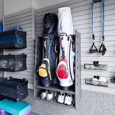 Garage Golf Bag Organizer - golf bag storage rack systems storage decorations