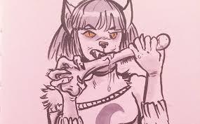 53 werewolves from inktober u0027s first week werewolf news