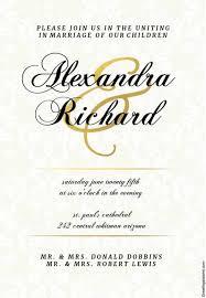 nikkah invitation wedding invitation template 64 free printable word pdf psd