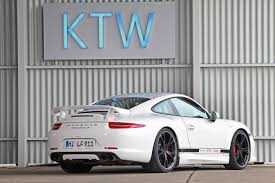 porsche 911 back ktw tuning porsche 911 991 carrera s techart