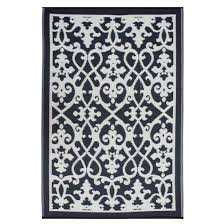 Black And Cream Rug And Black Venice Rug By Fab Habitat Spark Living Online