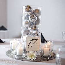 ornament reception centerpieces
