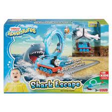 thomas and friends birthday party invitations thomas u0026 friends adventures shark escape set walmart com