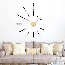 Wanduhren Wohnzimmer Beleuchtung Graz Design Wandtattoo Uhr Mit Uhrwerk Wanduhr Wohnzimmer Punkte