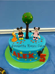 and friends cake mickey mouse and friends birthday cake cakecentral