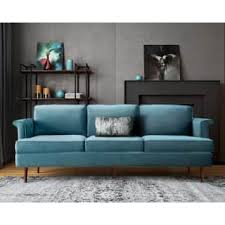 Blue Sofa Set Living Room Mid Century Sofas Couches U0026 Loveseats Shop The Best Deals For