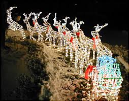 lawn reindeer with lights christmas 2003 decorating