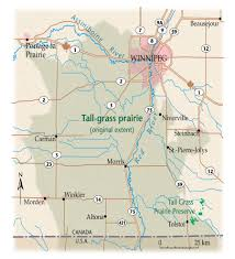Canadian River Map A Prairie Still Standing Tall Barely Canadian Geographic