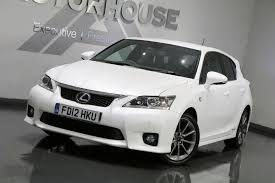 lexus hatchback used lexus ct 200h f sport huge spec amazing value 1 8