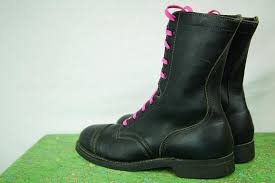womens boots uk size 10 black combat boots biltrite steel toe boots high top boot