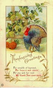 25 colorful vintage thanksgiving turkey postcards gold is money