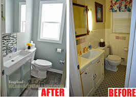 Ideas For Bathroom Renovation by Small Bathroom Renovation Pictures Before And After 20 Small