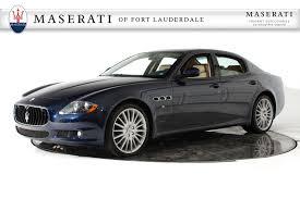 rose gold maserati car used 2012 maserati quattroporte s 4 7 for sale fort lauderdale