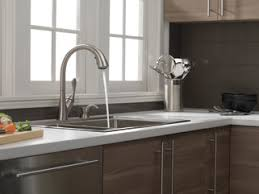 delta ashton kitchen faucet 19922 sssd dst single handle pull kitchen faucet with soap
