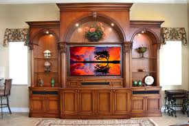 Traditional Entertainment Centers Family Room Traditional With - Family room entertainment
