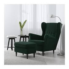 Ilea Chairs Strandmon Wing Chair Skiftebo Yellow Ikea