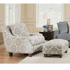 chairs with ottomans for living room fashion push back recliners accent chairs ottomans franklin