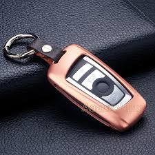 gold lexus key chain rose gold remote smart key case cover fob holder for bmw 5 series