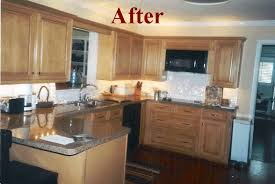 Laminate Kitchen Cabinets Refacing by Custom Cabinet Refacing