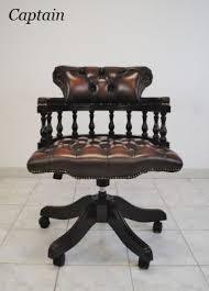 fauteuil de bureau cuir vintage chesterfield chesterfield fauteuils de bureau