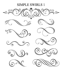 swirls vinyl 4 decor digital design