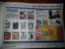 deals at best buy on black friday 2012 best buy u201cbuy 2 get 1 free u201d offer on all games 60 or less